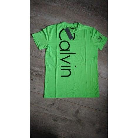 Tee-shirt CALVIN KLEIN Vert
