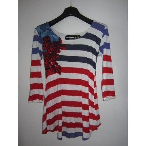 Top, tee-shirt DESIGUAL Multicouleur