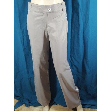 Pantalon droit SOLOLA Gris, anthracite
