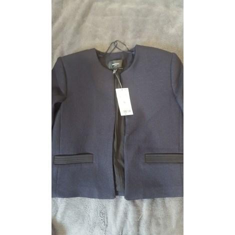 Blazer, veste tailleur MANGO Bleu, bleu marine, bleu turquoise