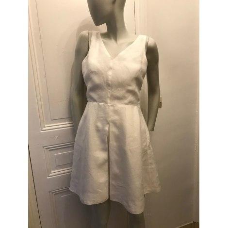 Robe courte GAP Blanc, blanc cassé, écru