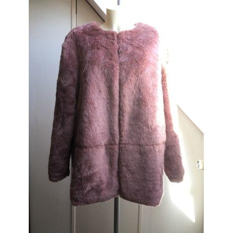 Manteau en fourrure KIABI Rose, fuschia, vieux rose