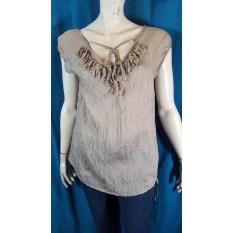 Top, tee-shirt COP-COPINE Beige, camel