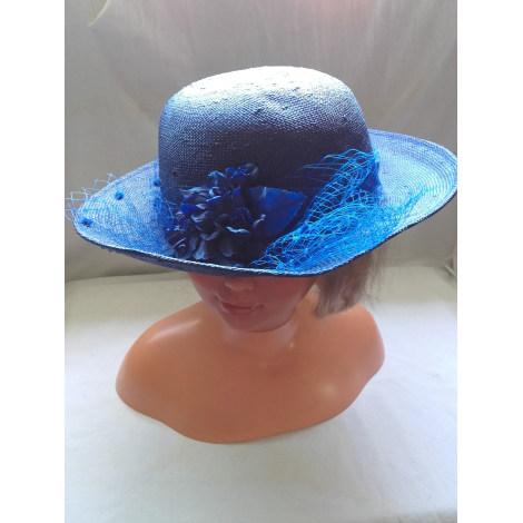 Chapeau MARQUE INCONNUE Bleu, bleu marine, bleu turquoise