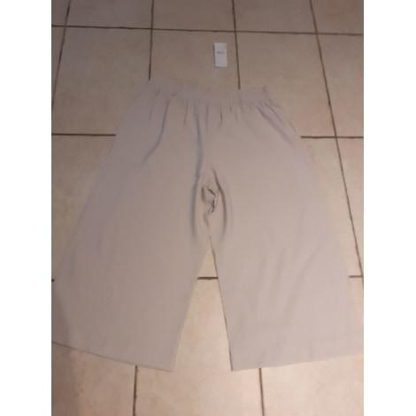 Pantalon large CREA CONCEPT Beige, camel