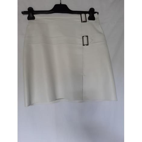 Jupe courte DKS Blanc, blanc cassé, écru
