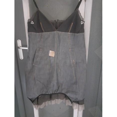 Robe courte COP-COPINE Gris, anthracite