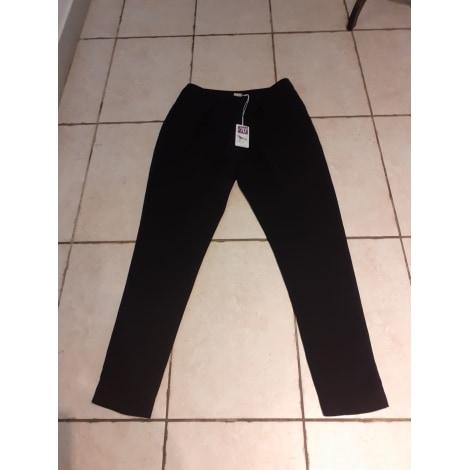 Pantalon droit CREA CONCEPT Noir