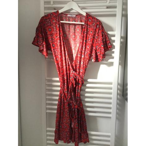 Robe mi-longue ZAPA Rouge, bordeaux