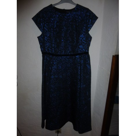 Robe mi-longue MARKS & SPENCER Bleu, bleu marine, bleu turquoise