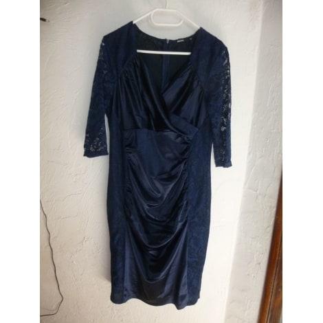 Robe mi-longue MIUSOL Bleu, bleu marine, bleu turquoise
