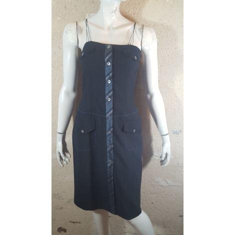Robe mi-longue BLEU BLANC ROUGE Noir