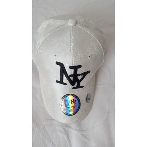 Casquette NY NEW YORK Blanc, blanc cassé, écru