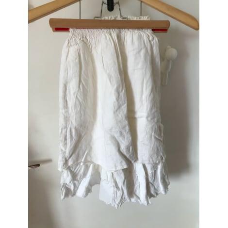 Jupe IKKS Blanc, blanc cassé, écru
