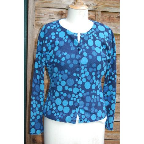 Gilet, cardigan GARNET HILL Bleu, bleu marine, bleu turquoise