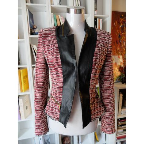 Blazer, veste tailleur ZARA Rouge, bordeaux