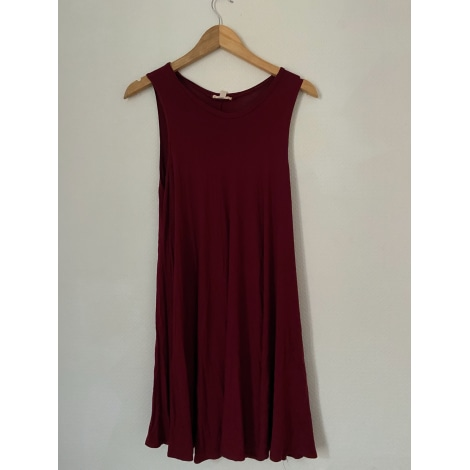 Robe courte URBAN OUTFITTERS Rouge, bordeaux