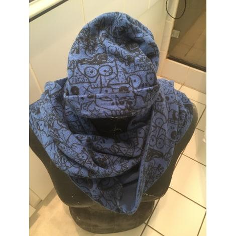 Echarpe MARC JACOBS Bleu, bleu marine, bleu turquoise