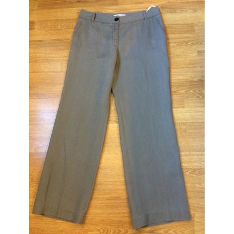 Pantalon large GERARD DAREL Gris, anthracite