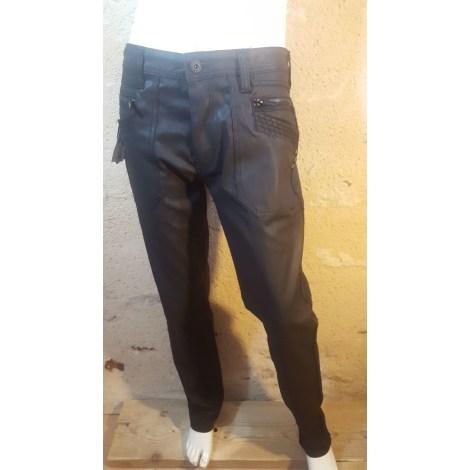 Jeans droit LIBERTO Noir