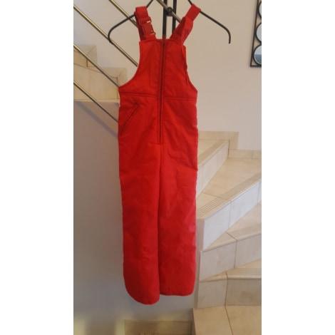 Pantalon NOUELLES GALERIES Rouge, bordeaux