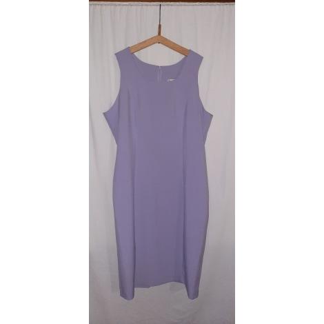 Robe mi-longue BLEU BONHEUR Violet, mauve, lavande
