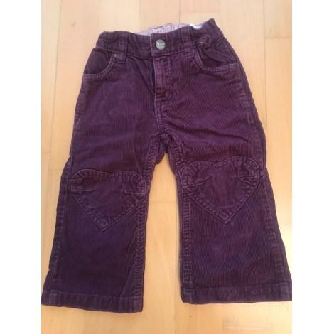 Pantalon H&M Violet, mauve, lavande