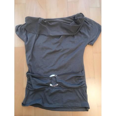 Top, tee-shirt MARQUE INCONNUE Marron