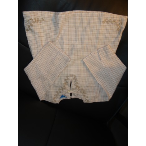 Blouse, Short-sleeved Shirt BOUT'CHOU White, off-white, ecru