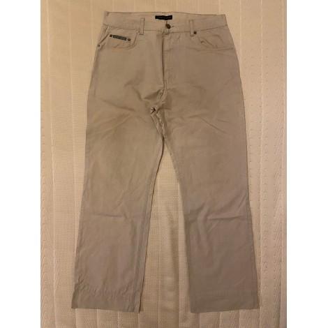 Pantalon droit CHEVIGNON Gris, anthracite