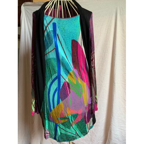 Robe courte SAVE THE QUEEN Multicouleur