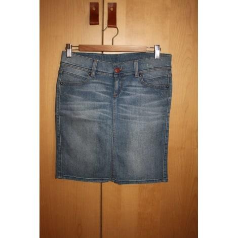 Jupe en jean BENETTON Bleu, bleu marine, bleu turquoise