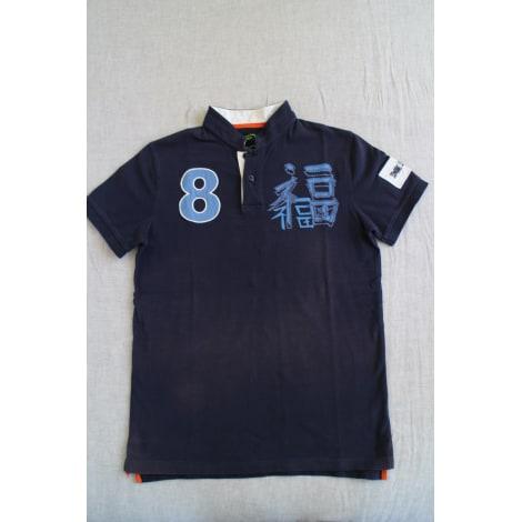 Polo SHANGHAI TANG Bleu, bleu marine, bleu turquoise
