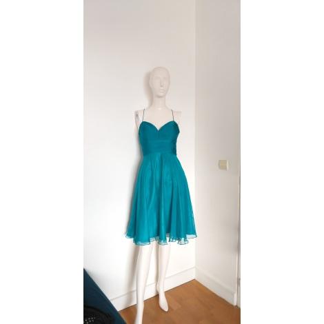 Robe mi-longue ELLEBELINE Bleu, bleu marine, bleu turquoise