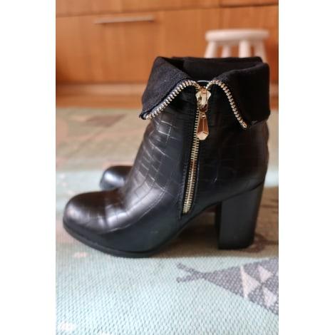 Bottines & low boots à talons LIBERTO Noir