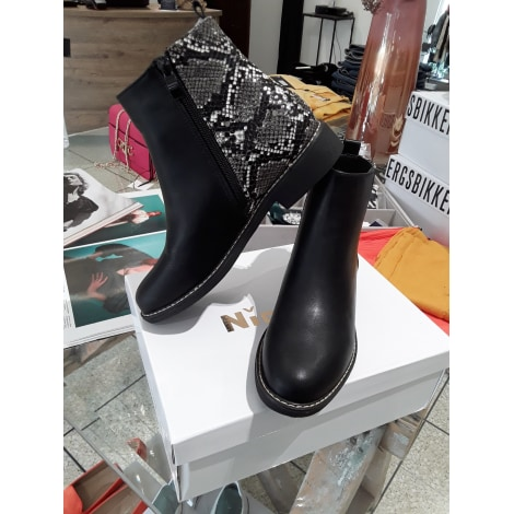 Bottines & low boots plates NIO NIO Noir