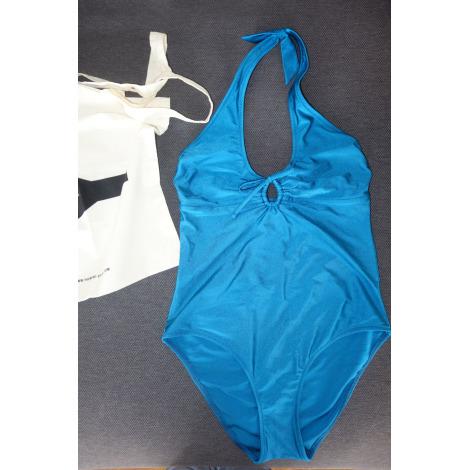 Maillot de bain une-pièce YASMINE ESLAMI Bleu, bleu marine, bleu turquoise
