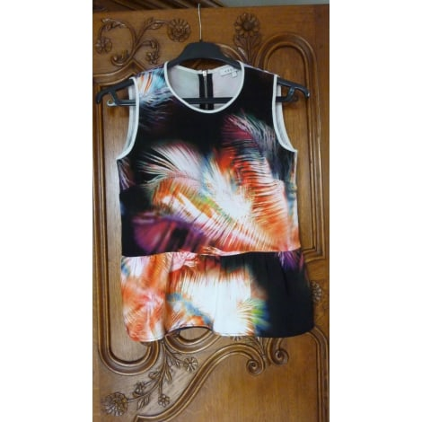 Top, tee-shirt SANDRO multicolore