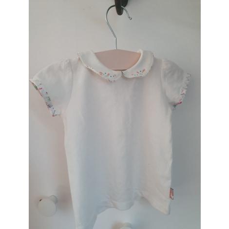 Top, tee shirt SERGENT MAJOR Blanc, blanc cassé, écru