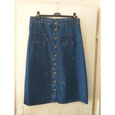 Jupe en jean BOUTIQUE INDÉPENDANTE Bleu, bleu marine, bleu turquoise