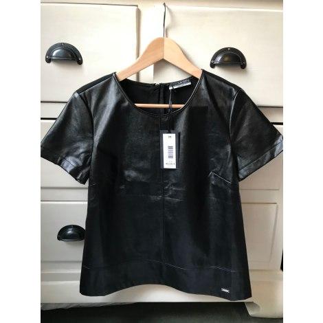 Top, tee-shirt LA CITY Noir