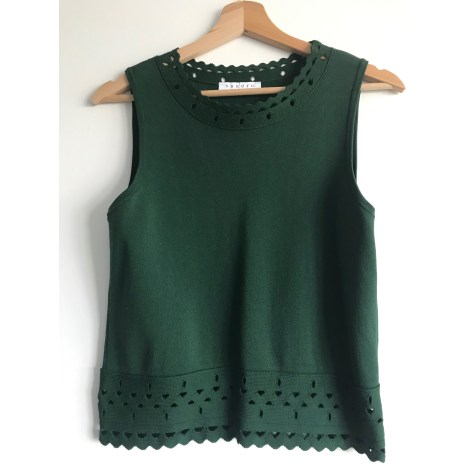 Top, tee-shirt SANDRO Vert