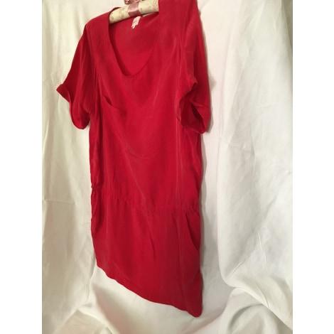 Robe courte ATHÉ VANESSA BRUNO Rouge, bordeaux