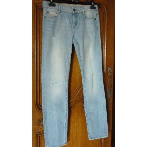 Jeans droit COMPTOIR DES COTONNIERS Bleu, bleu marine, bleu turquoise