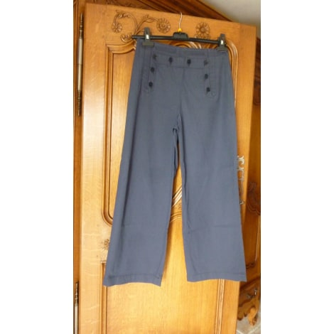 Pantalon large COMPTOIR DES COTONNIERS Bleu, bleu marine, bleu turquoise