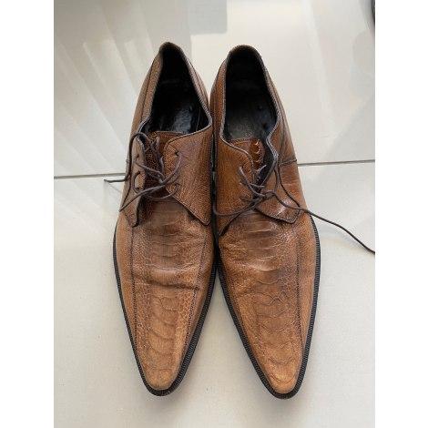 Chaussures à lacets DOLCE & GABBANA Marron