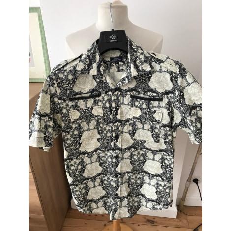 Short-sleeved Shirt SERGE BLANCO Beige, camel