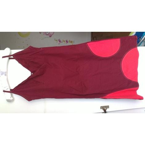 Robe courte ETAM Rouge, bordeaux