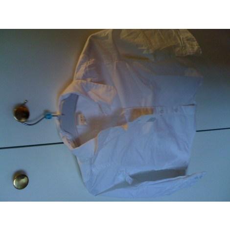Chemise H&M Blanc, blanc cassé, écru