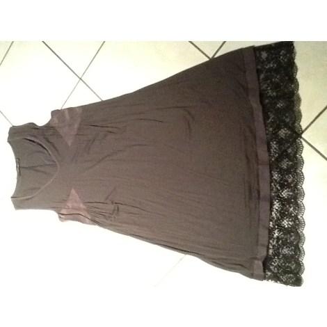 Robe courte TWIN-SET SIMONA BARBIERI Gris, anthracite